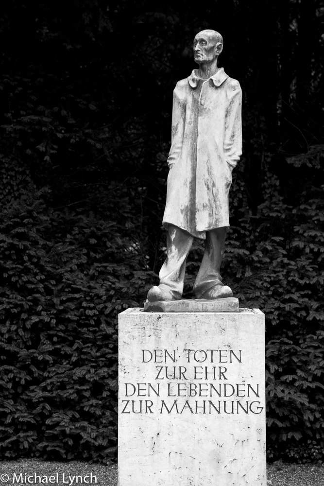 Statue at Dachau Concentration Campi