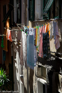 Even the hanging laundry is beautiful!