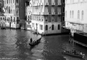 The view from Rialto Bridge