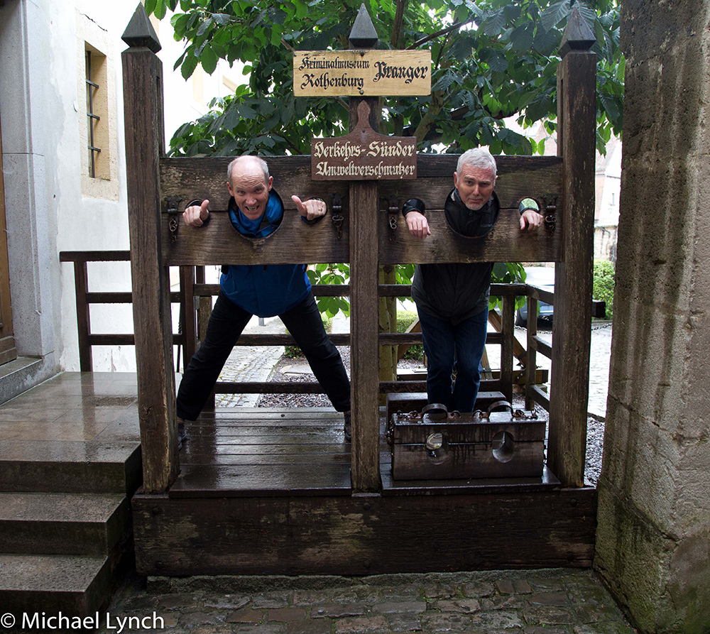 Phil and Mike at the Crime and Punishment Museum
