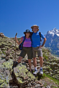 Sharon and Phil on the Alps Hike
