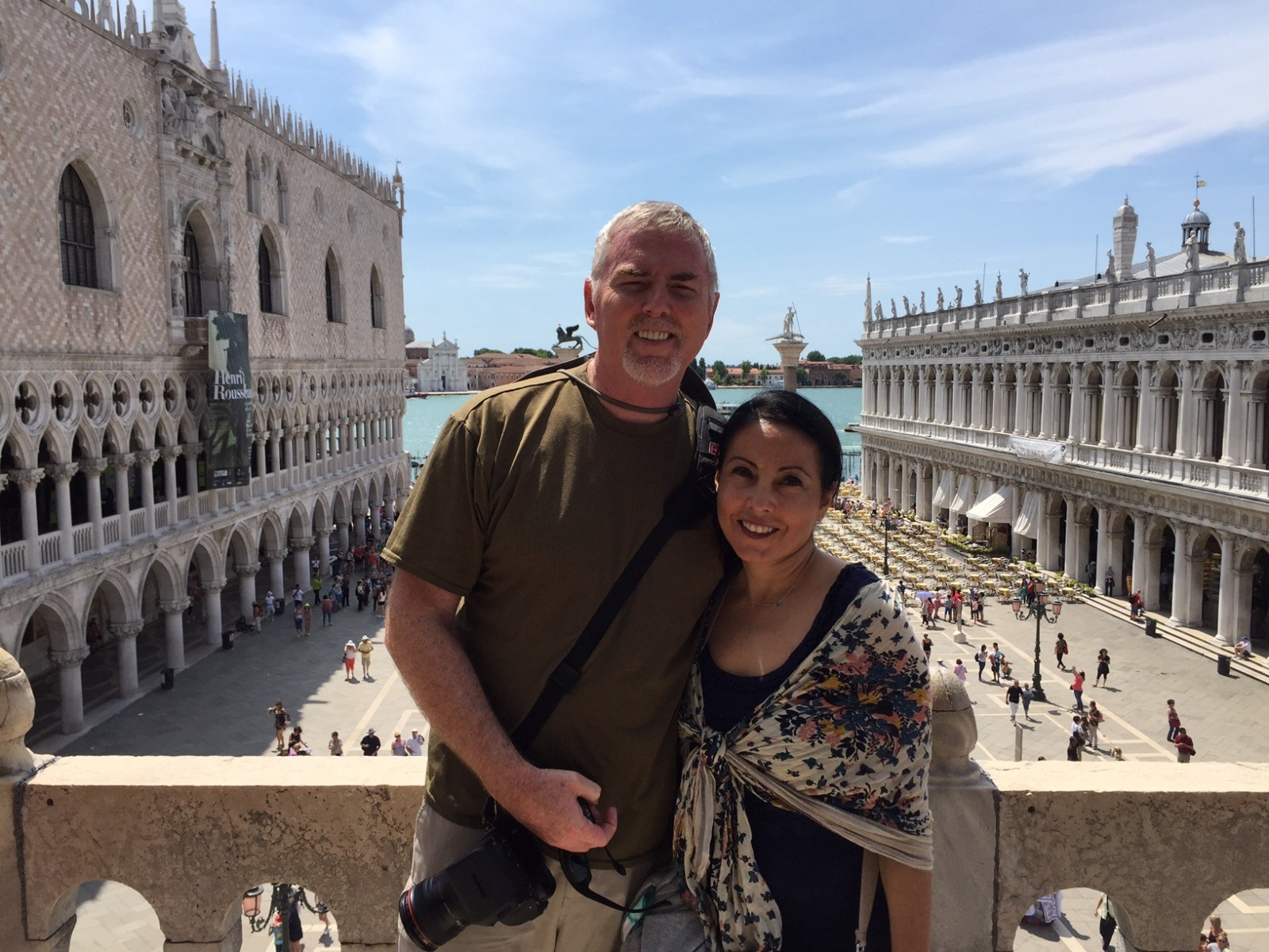 Mike and Veronica in Venezia